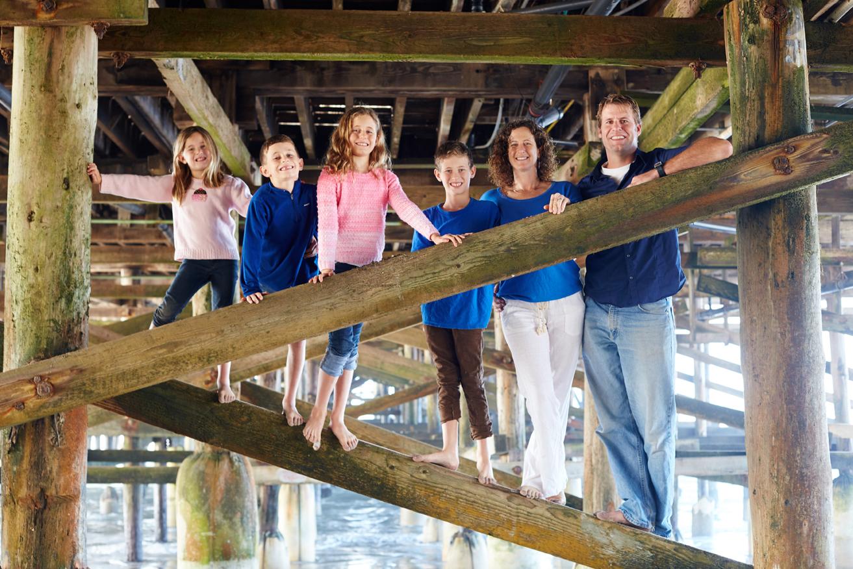 family portrait Pacific Beach