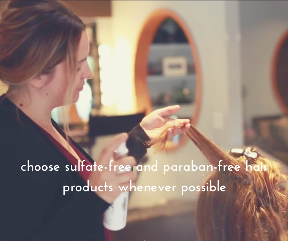 sulfate and paraban free hair products