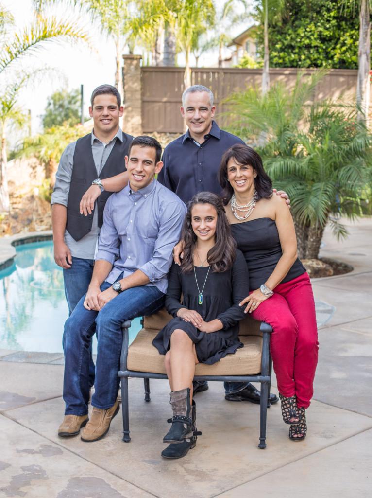 Family portrait Carlsbad, CA San Diego portrait photographer