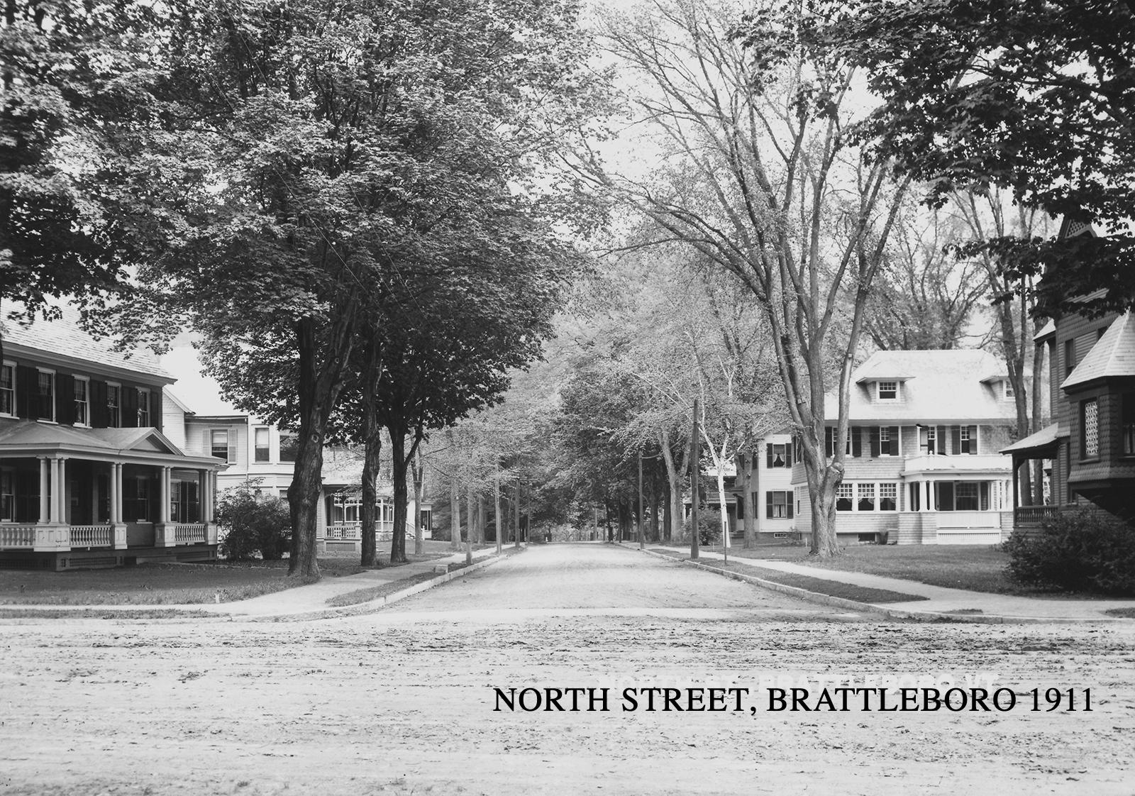 North Street Brattleboro