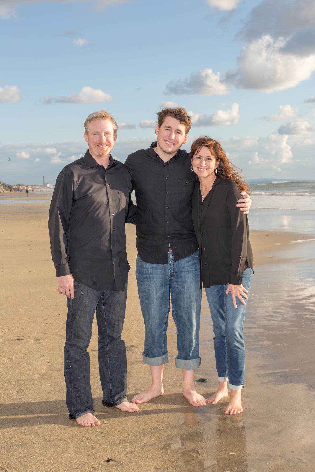 Oceanside Family photo shoot