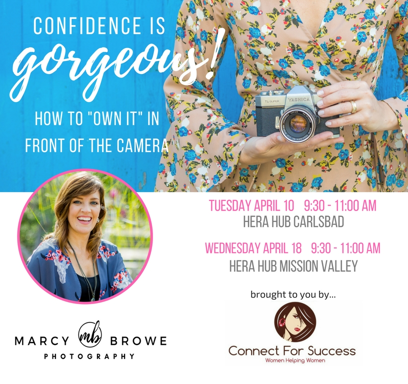confidence is gorgeous workshop by Marcy Browe