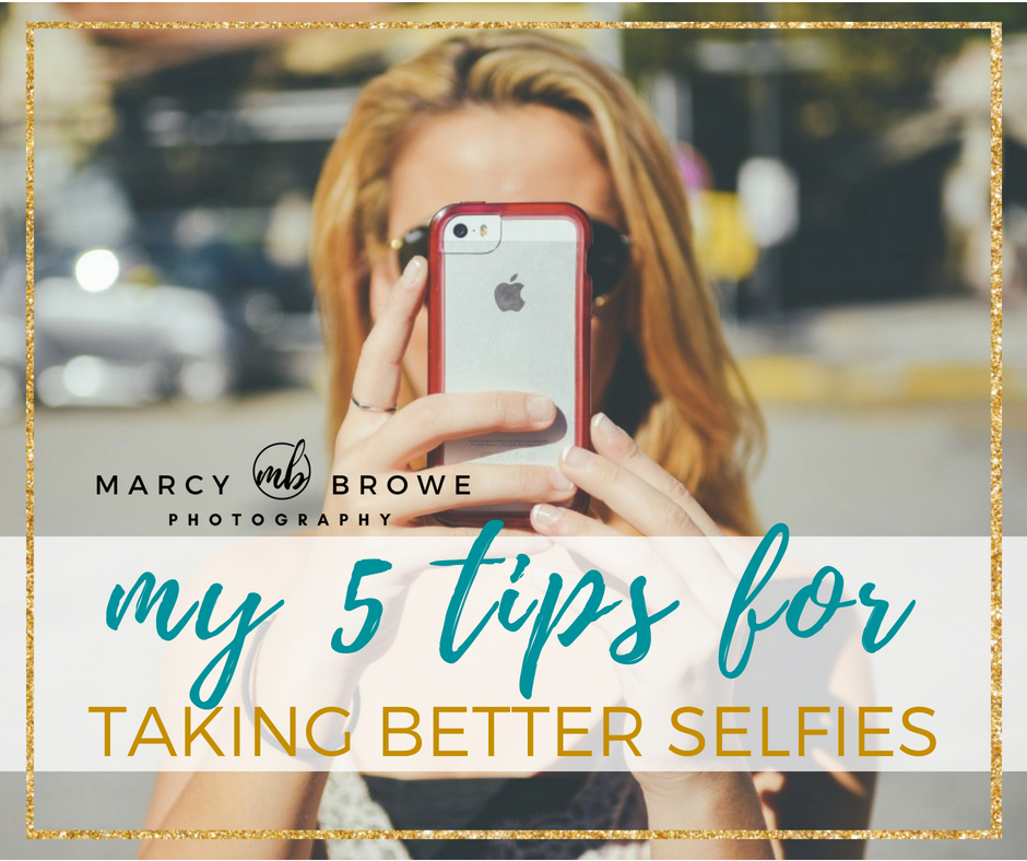 5 tips for selfies