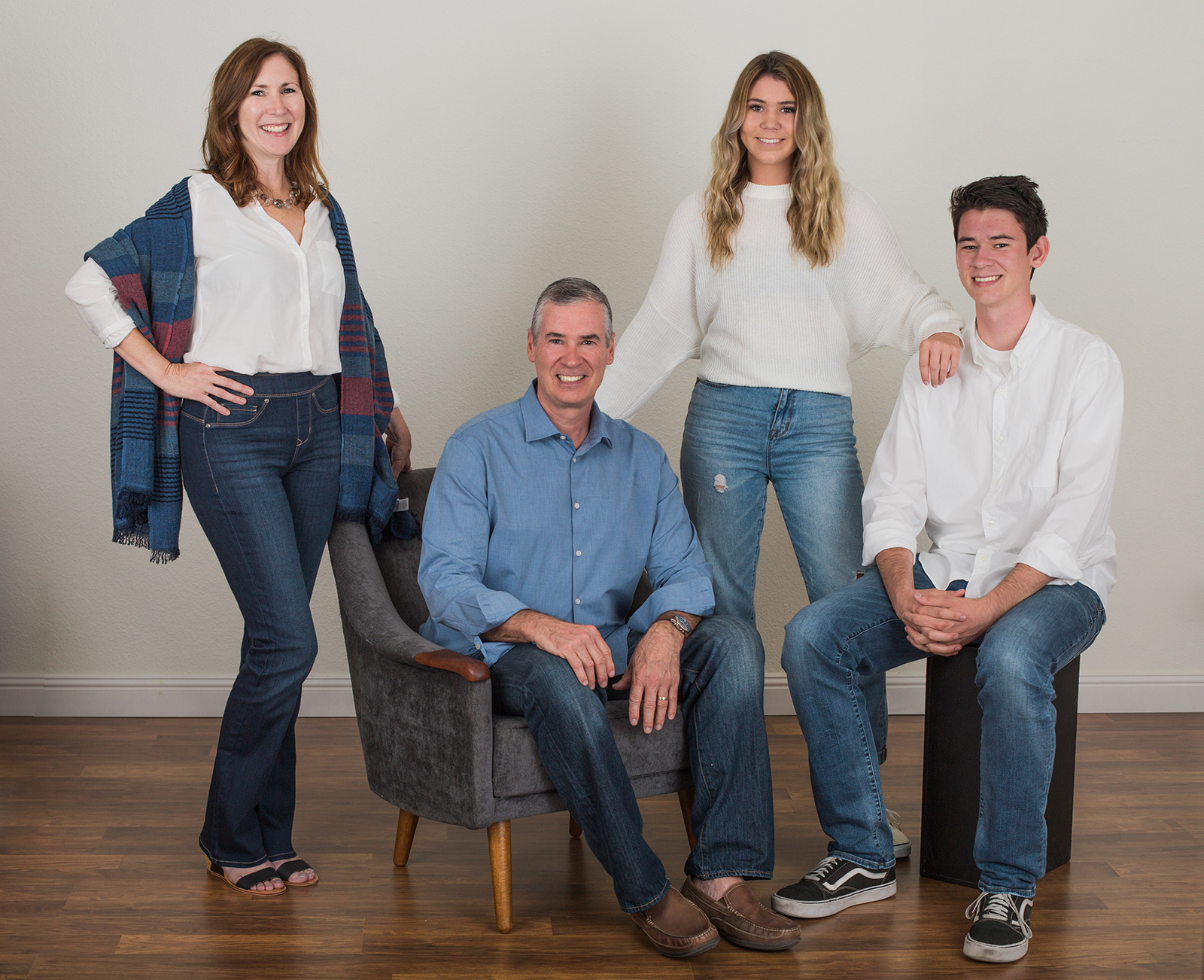 family photos in my Oceanside photo studio