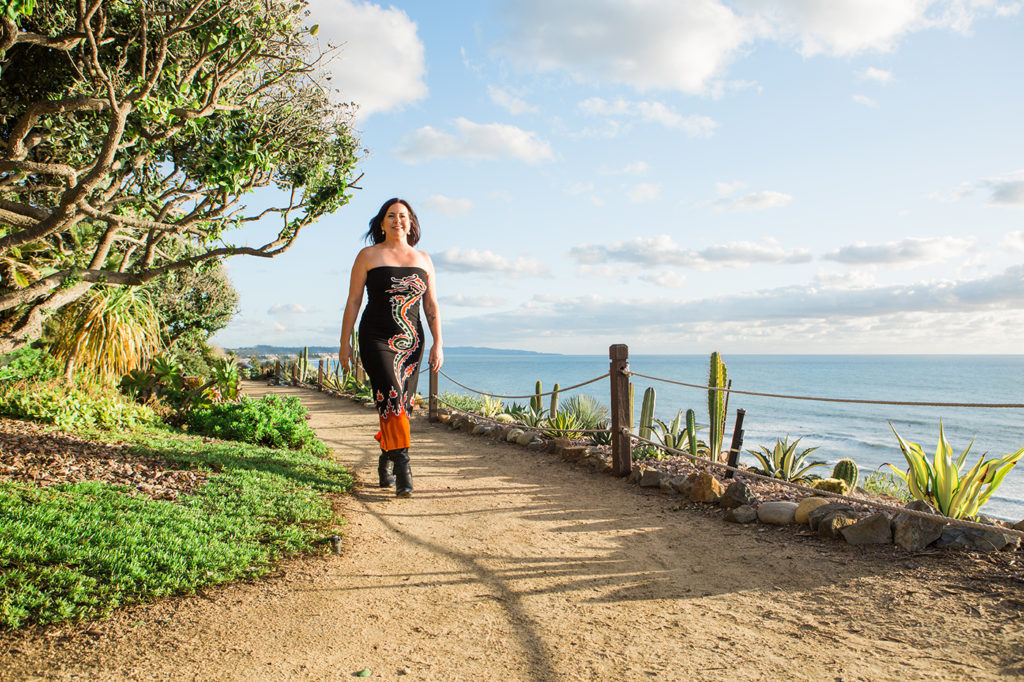 Personal branding photos in Encinitas, created to capture the spirit of Barbara's mission.