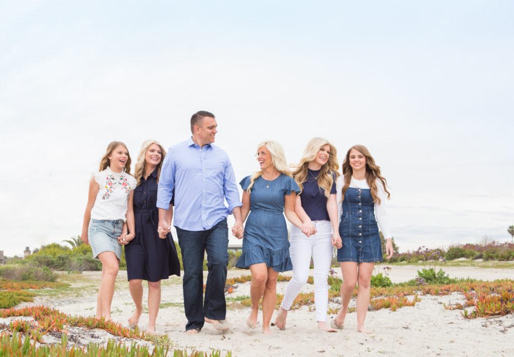 San Diego Family portrait + High school senior, Oceanside CA
