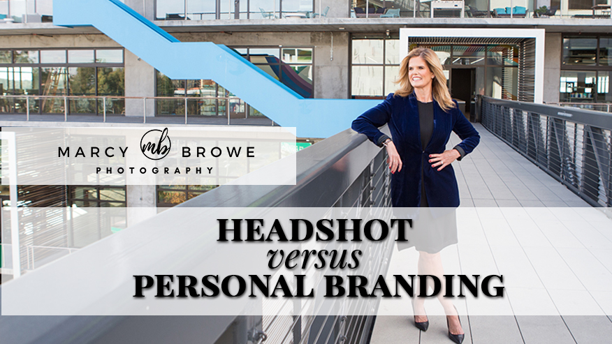 headshot versus personal branding