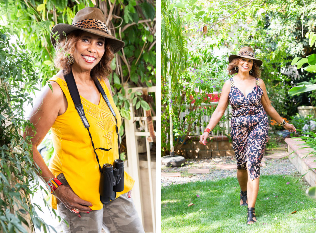 Personal branding photos for safari tour leader