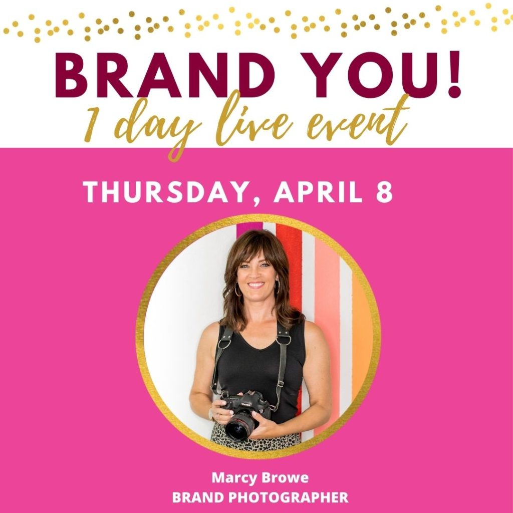 Brand You 1 day live event