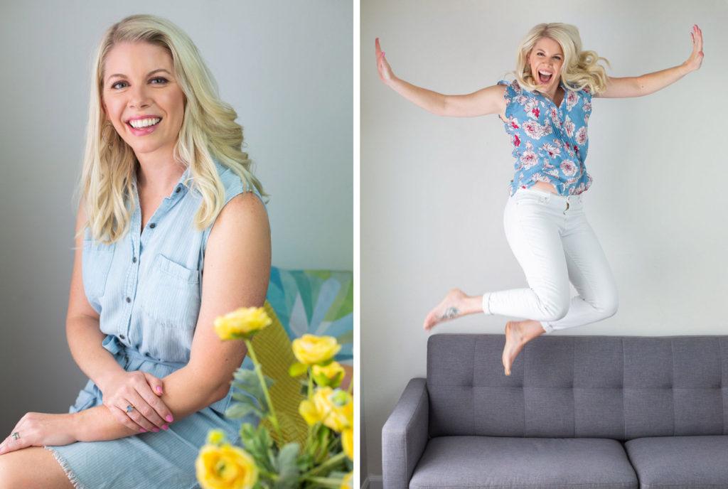 Branding photos for Simply STEAM creator Sarah Barnett